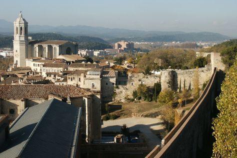 Passeig de la Muralla, Girona, Spain