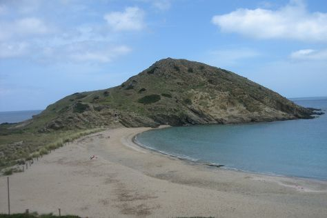 Playa Sa Mesquida, Cala Mesquida, Spain