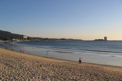 Playa Samil, Vigo, Spain