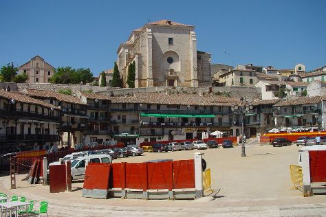 Plaza mayor de Chinchon, Chinchon, Spain