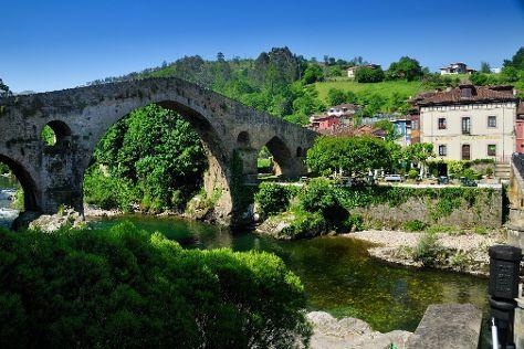 Puente Romano, Cangas de Onis, Spain