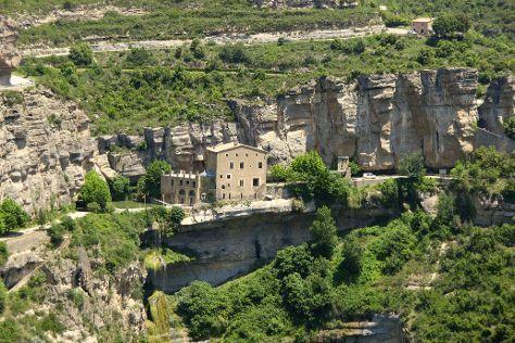 Sant Miquel del Fai Monastery, Sant Feliu de Codines, Spain