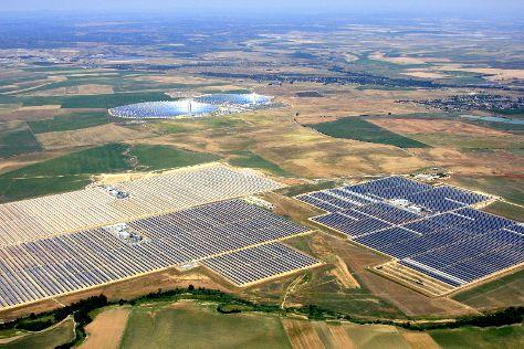 Solnova Solar Power Station, Sanlucar la Mayor, Spain