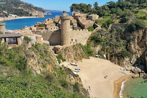Vila Vella (Old Town), Tossa de Mar, Spain