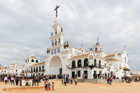 Virgin of El Rocio, Almonte, Spain