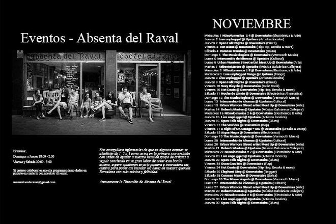 Absenta del Raval, Barcelona, Spain