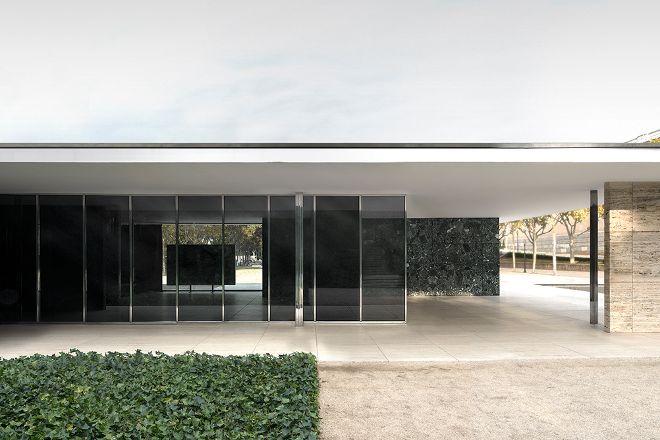 El Pabellón de Barcelona, Barcelona, Spain