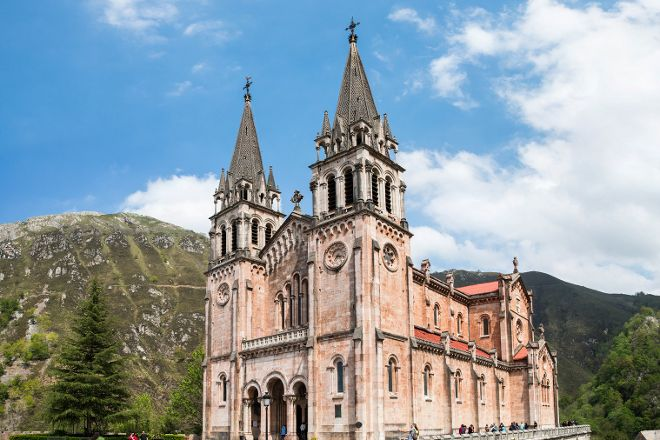 Santuario De Covadonga, Covadonga, Spain