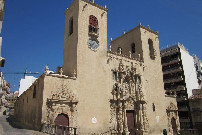 Basilica Santa Maria, Alicante, Spain