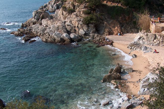 Cala Trons, Lloret de Mar, Spain