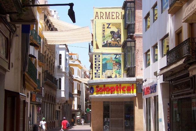 Calle Sierpes, Seville, Spain
