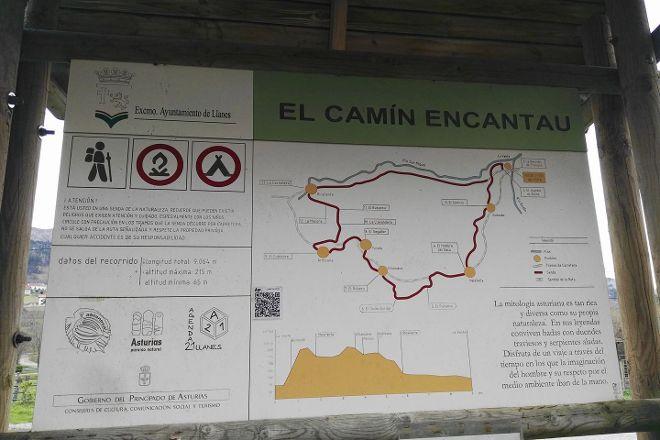 Camin Encantau, Llanes, Spain