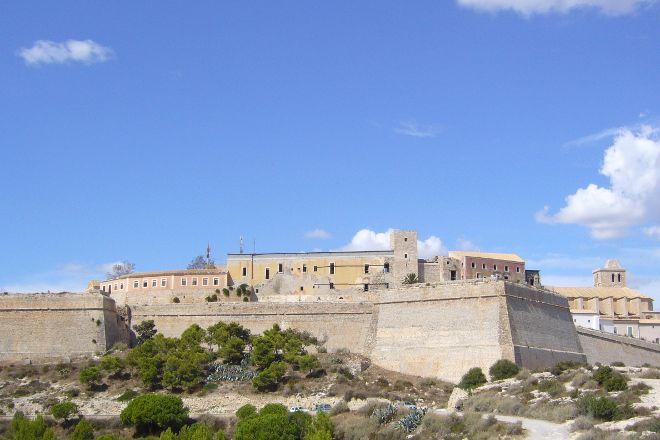 Castell de Eivissa, Ibiza Town, Spain