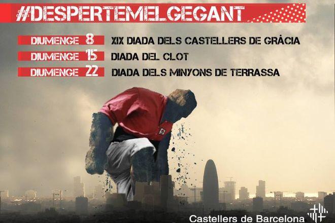 Castellers de Barcelona, Barcelona, Spain