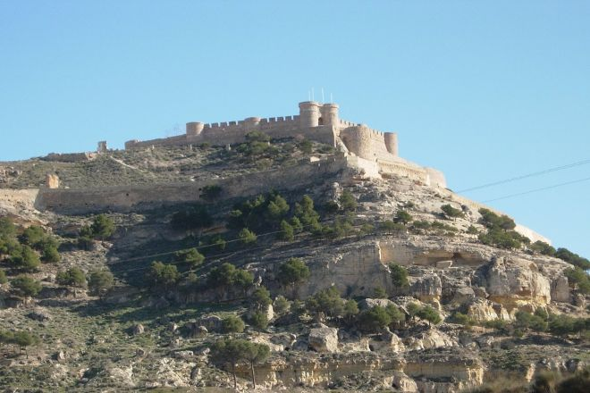 Castillo de Chinchilla, Chinchilla de Monte-Aragon, Spain