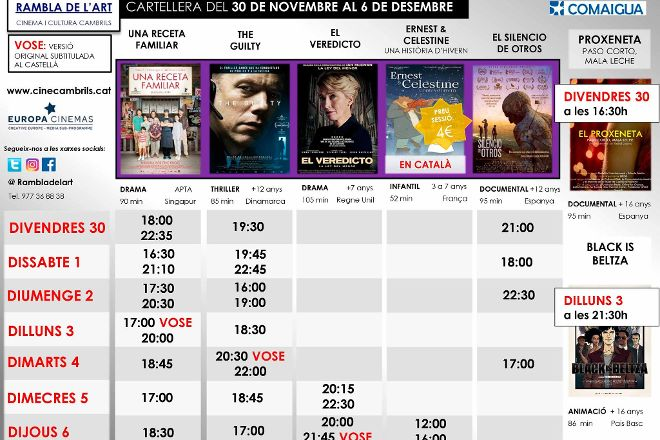 Cinema Rambla de l'Art, Cambrils, Spain