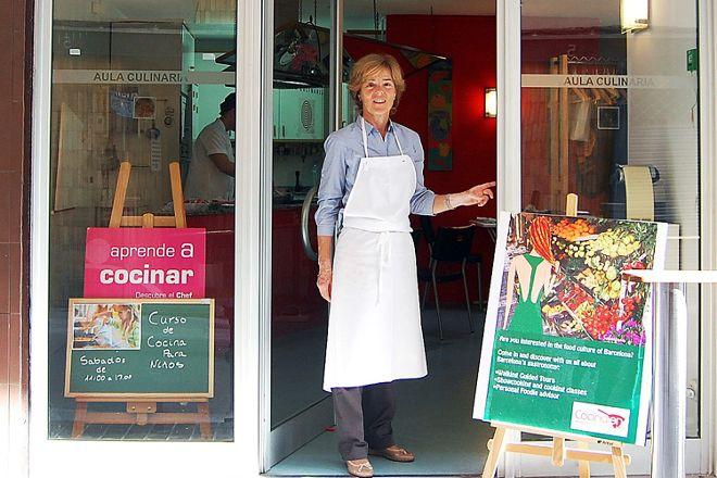 Cocina en... Ventana Gastronomica, Barcelona, Spain