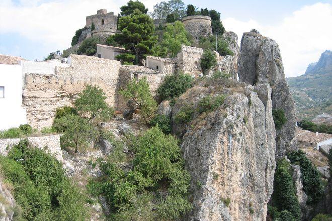 El Castell de Guadalest, Guadalest, Spain
