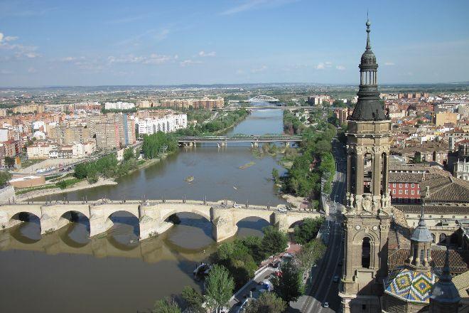 El Ebro, Zaragoza, Spain