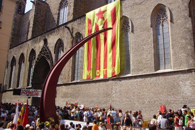 El Fossar de les Moreres, Barcelona, Spain