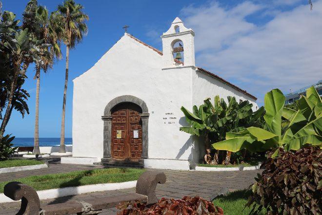 Ermita de San Telmo, Zumaia, Spain