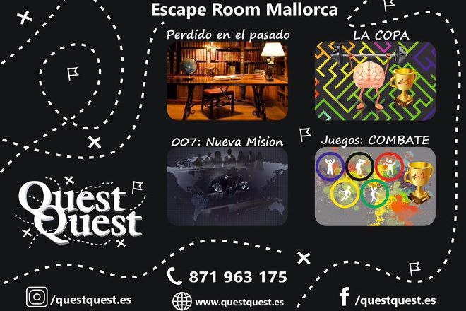 Escape room QuestQuest, Palma de Mallorca, Spain