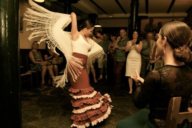 Flamenco Sara Martin, Madrid, Spain
