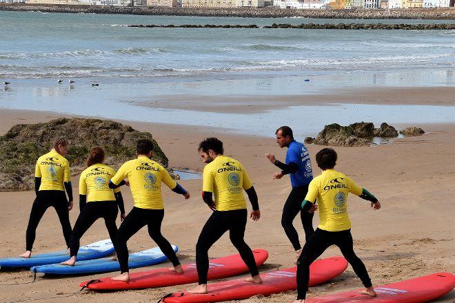 Glassy Surf School, Cadiz, Spain