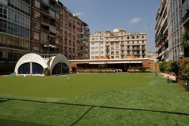 Golf Eixample, Barcelona, Spain