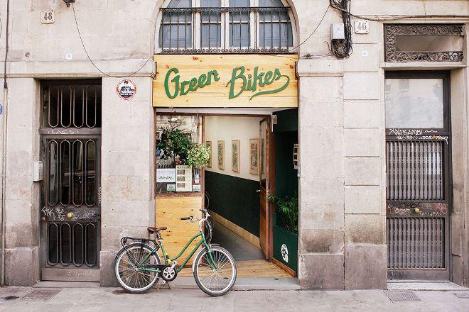 Green Bikes Barcelona, Barcelona, Spain