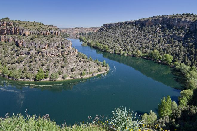 Hoces del Rio Duraton Natural Park, Sepulveda, Spain