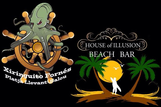 House Of Illusion Beach Bar, Salou, Spain