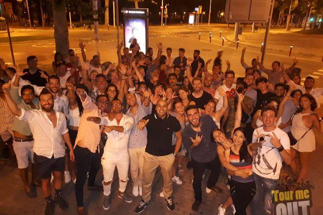 I Survived Barcelona Pub Crawl, Barcelona, Spain