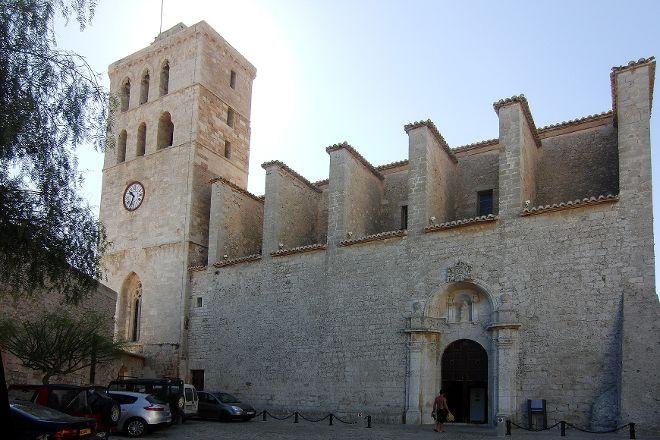 Ibiza Cathedral, Ibiza Town, Spain