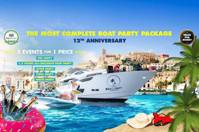 Ibiza Sea Party, Ibiza, Spain