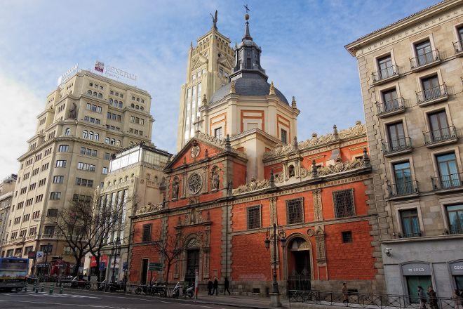Iglesia de Las Calatravas, Madrid, Spain