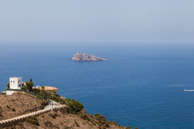 Isla de Benidorm, Benidorm, Spain