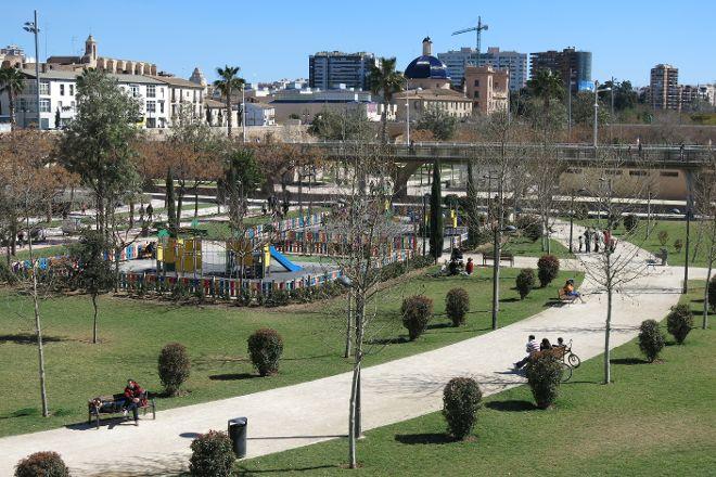 Jardi del Turia, Valencia, Spain
