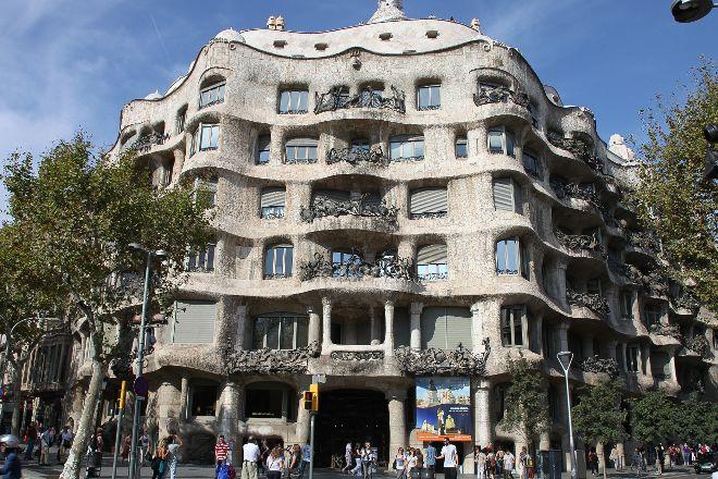 L'Eixample District, Barcelona, Spain