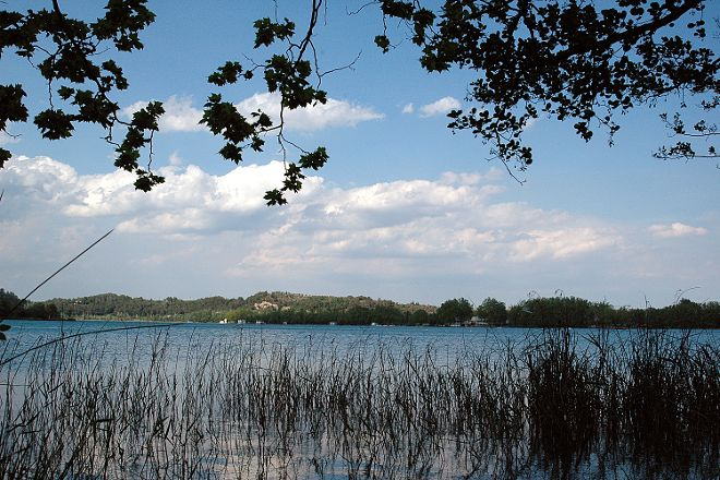 Lake Banyoles, Girona, Spain