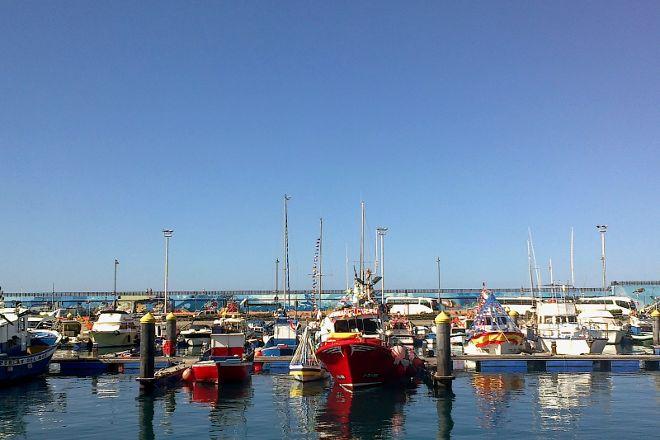 Los Cristianos Harbour, Los Cristianos, Spain