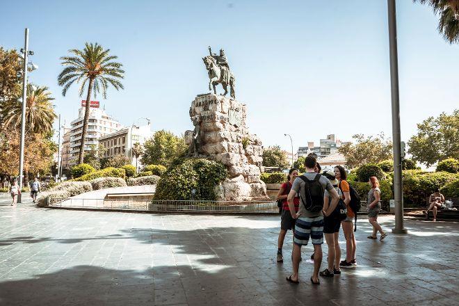 Mallorca on foot, Palma de Mallorca, Spain