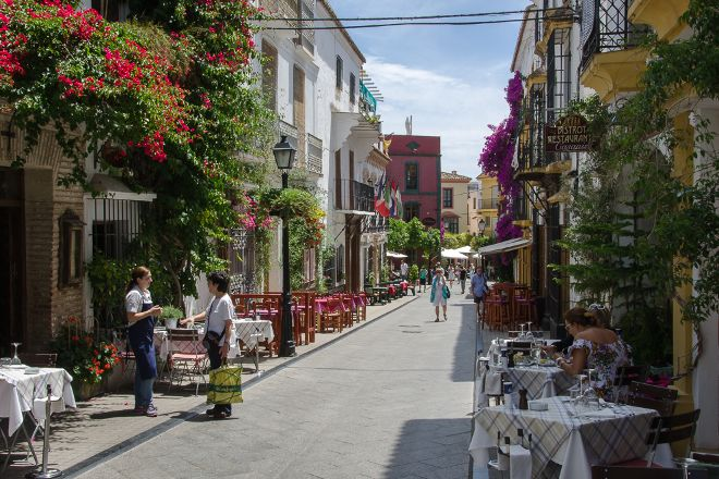 Marbella Old Town, Marbella, Spain