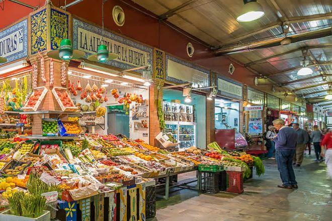 Mercado de Triana, Seville, Spain