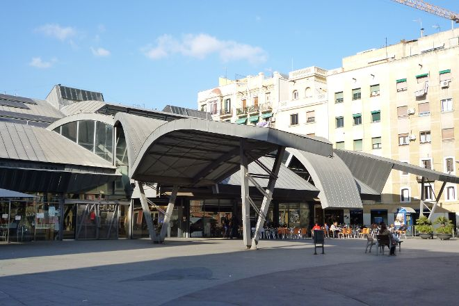 Mercat de la Barceloneta, Barcelona, Spain