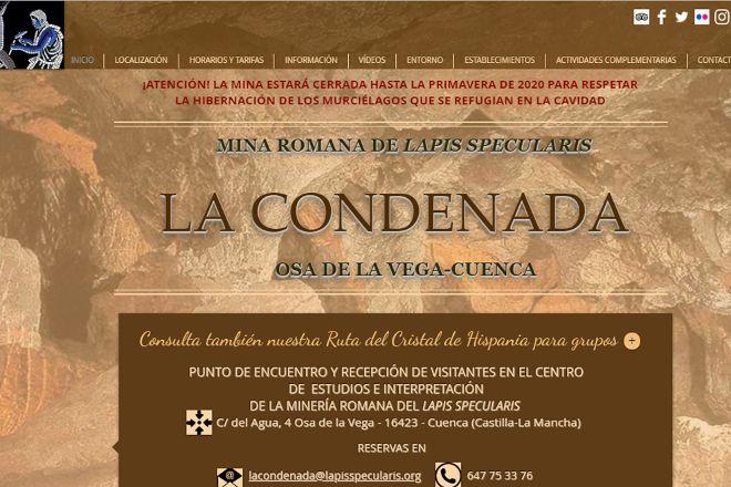 Mina Romana de Lapis Specularis La Condenada, Osa de la Vega, Spain