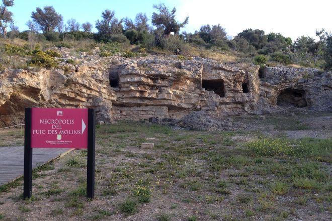 Necropolis del Puig des Molins, Ibiza Town, Spain