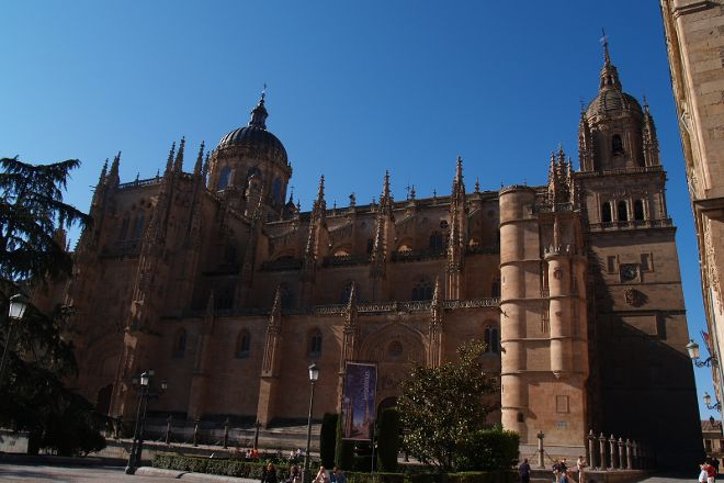 New Cathedral (Catedral Nueva), Salamanca, Spain