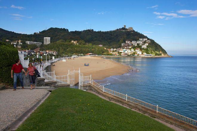 Ondarreta Beach, San Sebastian - Donostia, Spain