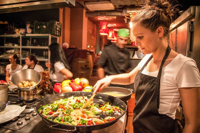 Paella Cooking Experience, Barcelona, Spain